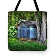 Backyard Barn Tote Bag
