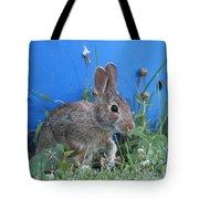 Backyard Bunny Tote Bag