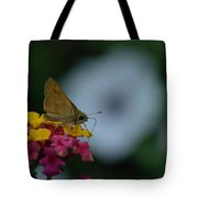 Backyard Butterfly Tote Bag