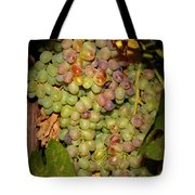 Backyard Garden Series -hidden Grape Cluster Tote Bag
