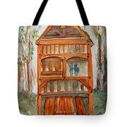 Backyard Play Hut Tote Bag