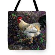Backyard Rooster Tote Bag
