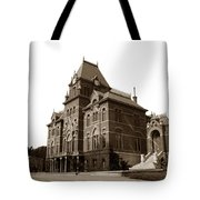 Bacon Hall University Of California Berkeley Circa1895 Tote Bag