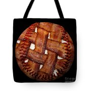 Bacon Weave Baseball Square Tote Bag