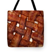 Bacon Weave Square Tote Bag