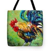 Bad Barnyard Bird Tote Bag