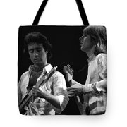 Bad Company At Work In 1977 Tote Bag