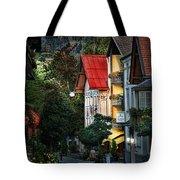 Bad Hindelang Austria At Dusk Tote Bag