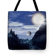 Bad Moons On The Rise Tote Bag