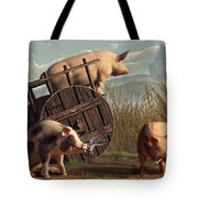 Bad Pigs Tote Bag