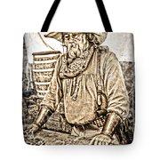 Bad Times Pilgrim Gotta Be Ready Tote Bag by Randall Branham