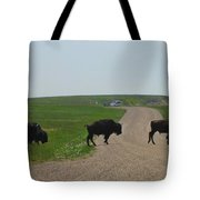 Badlands Buffalo Tote Bag
