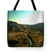 Badlands Coulee Tote Bag