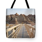 Badlands Walkway Tote Bag