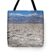 Badwater Basin - Death Valley Tote Bag
