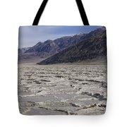 Badwater Basin Vista Tote Bag