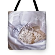 Bag Of Flour With Scoop Tote Bag