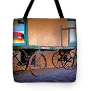 Baggage Cart Tote Bag
