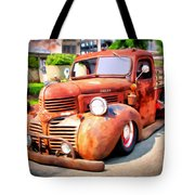 Bagged Out Dodge Tote Bag