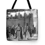 Baghdad Steet Scene Tote Bag