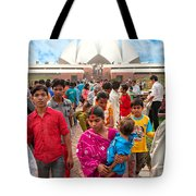 Baha'i House Of Worship - New Delhi - India Tote Bag
