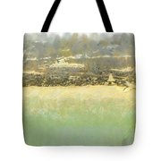 Bahai House Of Worship And Lake Michigan Shoreline Tote Bag