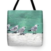 Bahama Birds Tote Bag