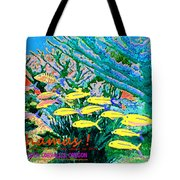 Bahamas Coral Reef Tote Bag