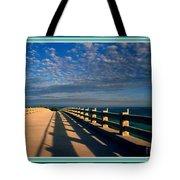 Bahia Honda Bridge In The Florida Keys Tote Bag