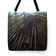 Bahnhof Cottbus Tote Bag