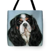 Bailey The Cavalier King Charles Spaniel Tote Bag
