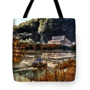 Bait Shop And Restaurant 02 Merged Image Tote Bag
