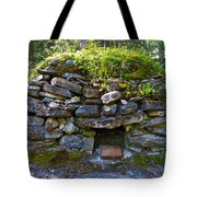 Bake Oven From 1884-5 In  Kicking Horse Campground In Yoho Np-bc Tote Bag