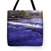 Bakewell Weir Tote Bag