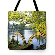 Bakewell Weir Sluice Gates Tote Bag