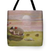 Baking Mr.potato Head. Tote Bag