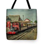 Bala Lake Railway Tote Bag