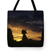 Balance Rock Arches National Park Tote Bag