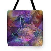 Balanced Dynamic - Square Version Tote Bag