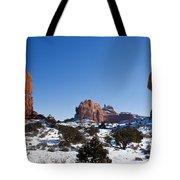 Balanced Rock Arches National Park Utah Tote Bag