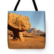 Balanced Rock Below Vermilion Cliffs Tote Bag