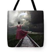 Balancing Tote Bag by Joana Kruse