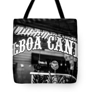 Balboa Candy Sign On Balboa Island Newport Beach Tote Bag