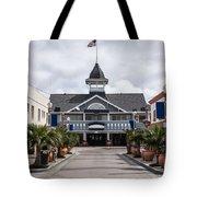 Balboa Downtown Main Street In Newport Beach Tote Bag by Paul Velgos