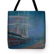 Balclutha In The Mist Tote Bag