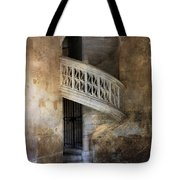 Balcony At Les Invalides Paris Tote Bag