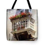 Balcony In Split Croatia Tote Bag