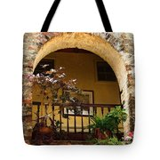Balcony St Lucia Tote Bag