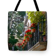 Balcony Tote Bag