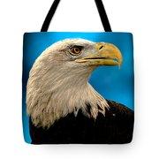Bald Eagle And Fledgling  Tote Bag